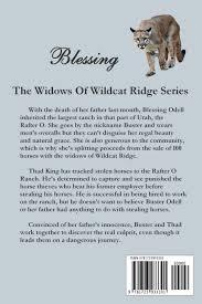 100 Wildcat Ridge Blessing Widows Of Caroline Clemmons