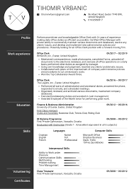 Resume Examples By Real People: Office Clerk Resume Template ... 150 Resume Templates For Every Professional Hiration Business Development Manager Position Sample Event Letter Template Opportunity Program Examples By Real People Publisher 25 Free Open Office Libreoffice And Analyst Sample Guide 20 Cv Hvard Business School Cv Mplate Word Doc Mplates 2019 Download Procurement Management Writing Tips From Myperftresumecom