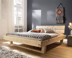 balkenbett 140x200 unikat zirbenholz massiv unbehandelt casade mobila