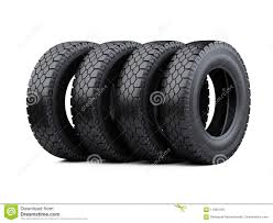 100 New Truck Tires Set Of Four Big Vehicle Stacked Car Wheels Stock