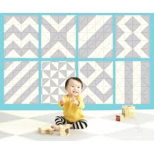 skip hop foam floor tiles with playspot geo babyonline and