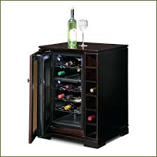 wine cooler cabinet insert fridge furniture tresanti costco