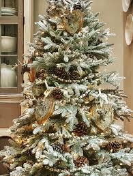 Fraser Christmas Trees Uk by Frosted Fraser Fir Narrow Artificial Christmas Tree Balsam Hill
