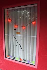 Lights Window Clings And Paper Mickey Decorations For Halloween
