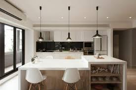 küchen arbeitsplatten quarzstein weiß pendelleuchte aus