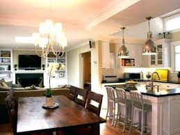 Kitchen Dining Room Small Living Combo Floor Plans