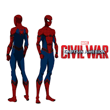 MCU Spider Man Civil War By Bigoso91