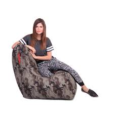 Grey XXL Chair Camouflage Printed Bean Bag With Fillers (Bean Bag ... Waterproof Camouflage Military Design Traditional Beanbag Good Medium Short Pile Faux Fur Bean Bag Chair Pink Flash Fniture Personalized Small Kids Navy Camo W Filling Hachi Green Army Print Polyester Sofa Modern The Pod Reviews Range Beanbags Uk Linens Direct Boscoman Cotton Round Shaped Jansonic Top 10 2018 30104116463 Elite Products Afwcom Advantage Max4 Custom And Flooring