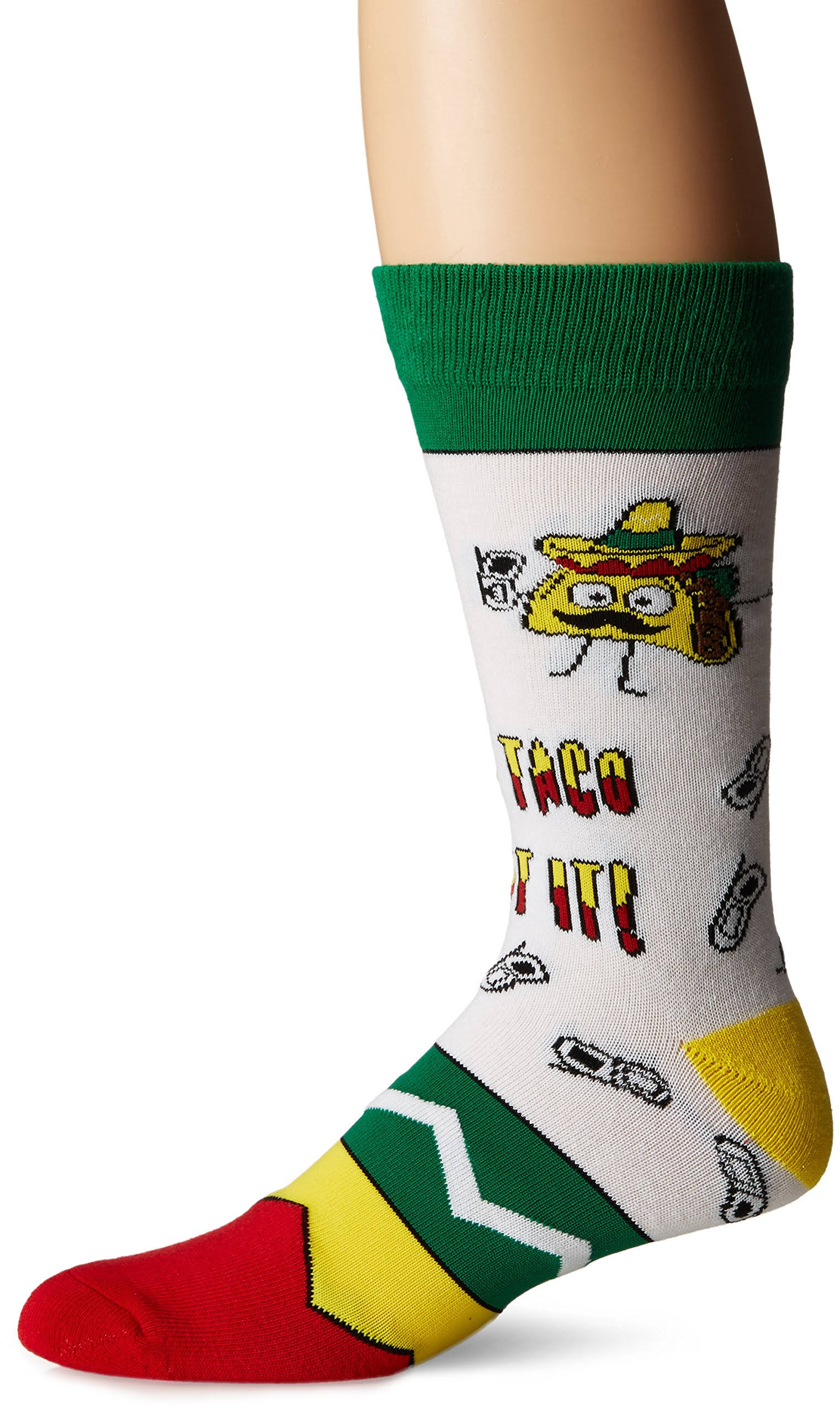 Cool Socks Men's Lets Taco 'Bout It (Knit)