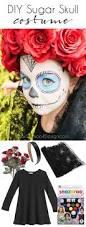 Easy Sugar Skull Day Of by Easy Sugar Skull Halloween Costume Cuckoo4design