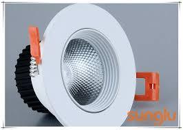 aluminiumkörper badezimmer led downlights blendschutz led