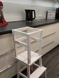 ikea hack kinder küche hocker