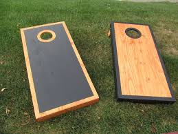 DIY Cornhole Boards Is The Perfect Project For A DIYer Who Loves Outdoor Games Or Tailgating