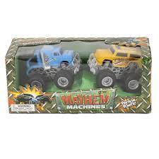 100 Big Toy Trucks Wholesale 2 Pc 4 Inch Mayhem Machines Wheels Childrens