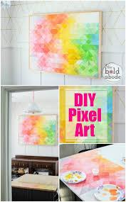 DIY Pixel Abstract Art