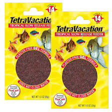 Amazoncom Tetra Vacation Tropical Slow Release Feeder 212Ounce