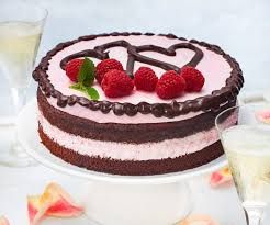 himbeer mousse torte