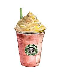 Starbucks Clipart Drawing Png Library Download
