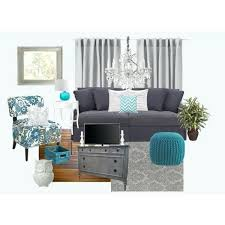 Grey And Turquoise Living Room Curtains by Living Room Chic Teal Living Rooms Teal Curtains Living Room