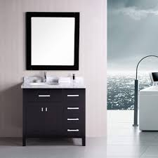 Design Element London 36 Inch Single Vanity With Drawers On The ... Design Element Milan 24 Bathroom Vanity Espresso Free Shipping 78 Ldon Double Sink White Dec088 36 Single Set In Galatian 88 With Porcelain Stanton 72 W Vessel Inch Drawers On The Open Bottom Dec074sw Citrus 48inch Solid Wood W X 22 D 61 Gray Marble Hudson 34 H