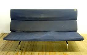 Eames Sofa Compact Uk by Eames Couch Mid Century Modern Charles Eames Sofa Compact Black