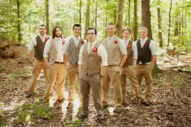 Shabby Chic Wedding Men