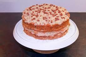 Caramel Apple Crumble Cake