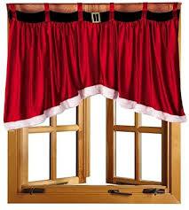 vorhang rot unregelmäßige weihnacht fenster gardinen moderne blended cotton smooth drape panel volants fenster vorhänge für esszimmer