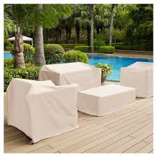 Outdoor Chair Furniture Cover Cream Crosley Tar
