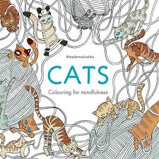 Cats Colouring For Mindfulness By Mesdemoiselles Amazon