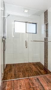bathroom remodel northridge curb less shower w drain