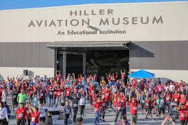 100 Hiller Aviation Food Trucks Airport Runway Run 2019