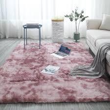 großhandel teppich krawatte färben plüsch weiche teppiche für wohnzimmer schlafzimmer gleitschutz fußmatten schlafzimmer wasseraufnahme teppich