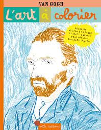 Coloriage Iris Par Vincent Van Gogh Coloriages à Imprimer Gratuits