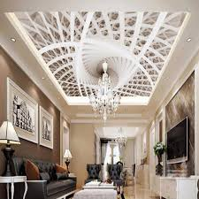 nach jeder größe wand tapete kunst geometrie decke design wandbild wohnzimmer schlafzimmer moderne kreative decke 3d papel de parede