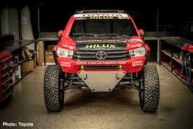 100 Mid Engine Truck Toyota Hilux Evo V8 Revealed 2017 Dakar Rally