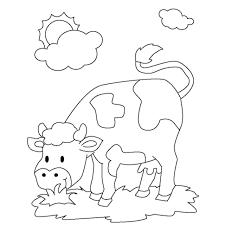 27 Beau Image Coloriage Vache Gratuit Imprimer Meilleure Page À