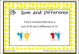 Halloween Brain Teasers Math by Math Task Cards Math Problems And Math Brain Teasers Cards Set A