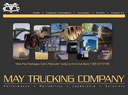 May Trucking Company Competitors, Revenue And Employees - Owler ... I5 Norcal Headin Back North Pt 7 Wed 44 Drivin South On May Trucking Company Tim Ables Co Home Facebook Walmarts Truck Of The Future Business Insider Selfdriving Trucks Are Going To Hit Us Like A Humandriven Intertional Wwwimagenesmycom Xpo Logistics Spend Up 8 Billion Acquisitions Wsj Workone Tdl Awareness Session With Schneider Gypsum Express And Png Large Corpiwithfullwordsundermtclogos Cdla Driver