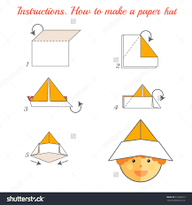 Polytree Christmas Trees Instructions by Paper Hat Instructions Google Search Model References Pinterest