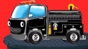 Fire Truck Black Wash Game | Car Wash | Kids Games - YouTube