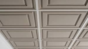 plafond a caisson suspendu habiller plafond