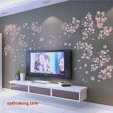 sticker chambre wall stickers for tv room beautiful diy romantique prune fleur