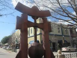 Asian Sculpture Pacific Garden Mall Santa Cruz Ca Picture of