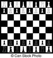 Chess Board Vector Clipart Illustrations 5439 Clip