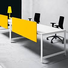 100 Countertop Glass Office Divider Glass Laminate K_WORD Manerba