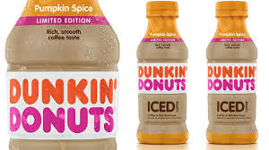 Dunkin Donuts Lifts The Lid On New Bottled Pumpkin Spice Iced Coffee