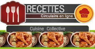 recettes cuisine collective circulaire en ligne