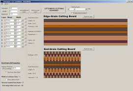 woodworking end grain cutting board design software mac plans pdf