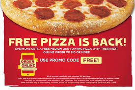 FREE Medium Pizza At Hungry Howies